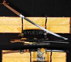 Handmade JAPANESE SAMURAI KATANA SWORD 1060CARBON STEEL VERY SHARP BLADE CUTTREE
