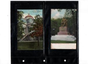 Postcards 4 older Michigan scenes