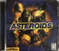 Asteroids-Windows 95/98 PC CD Rom video game-RARE VINTAGE COLLECTIBLE-SHIP N 24H