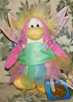 Disney Club Penguin Fairy Plush w Coin Series 4 Faery NWT New Tags Stuffed Toy