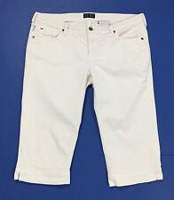 Armani jeans shorts pantalone corto bermuda bianco W32 tg 46 donna usati T1731