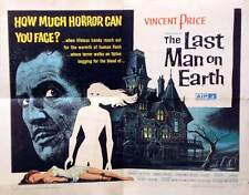 THE LAST MAN ON EARTH Movie POSTER 22x28 Vincent Price Franca Bettoya Giacomo