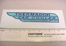 OLD SCHOOL THERMADOR SWAMP CAR COOLER DECAL WATER SLIDE VINTAGE STYLE