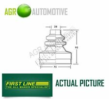 FIRST LINE TRANSMISSION END DRIVESHAFT CV JOINT BOOT KIT OE QUALITY FCB2738
