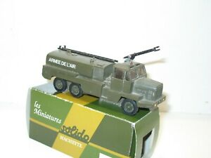 Solido, Firefighter Truck Military Lance Foam Army L'Air Full/Complete