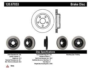 StopTech For 04-18 Chrysler Aspen / Dodge / Ram 4000 Disc Brake Rotor 120.67053