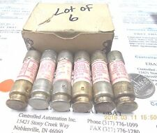 Gould Shawmut TR10R Fuse/Fuses 250V, Lot of 6