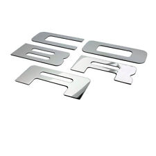 For 03-04 Mustang COBRA Stainless Steel POLBumper Inserts FREE SHIPPING