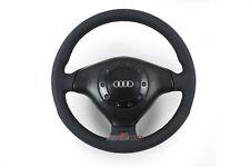 #4A0419091BA NEUBEZUG Audi S8 D2 3-Speichen-Leder-Airbag-Sportlenkrad Austausch