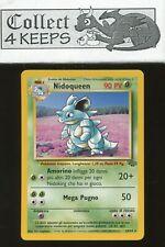 Pokemon TCG Unlimited Jungle Nidoqueen 23/64 (Italian Rare LP)