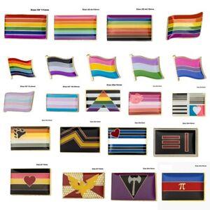 LGBTQ Anstecknadel/ Badge Gay Pride Festival Homo Bisexuell Trans Leder Lesbian