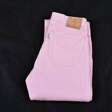 JECKERSON LADIES STRAIGHT STRETCH FIT PINK JEANS Denim Stretch Trousers W25 Uk8