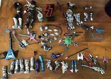 HUGE LOT OF KISS ROCK BAND FIGURES AND ACCESSORIES, Kiss Lot