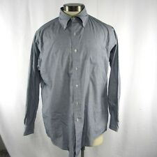 Brooks Brothers Mens Size 16 Dress Shirt Long Sleeve Button Front Checked