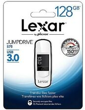 Lexar JumpDrive S75 128GB USB 3.0 Flash Drive    AL