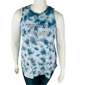 New Lane Bryant Livi Sleeveless Woman Top 22 24 Large Activewear Independent NWT