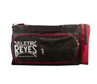 Cleto Reyes Training Holdall Embroidered Logo Black Red Gym Bag Holdall Duffel