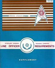 1987 Star Trek Line Officer Requirem Manual Supplement