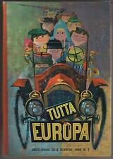 TUTTA EUROPA cartonato la Folgore 1965 cards album semicpl 257/288  fol-bo folbo