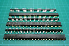 "20 X Male Female 40-Pin 0.1""/2.54mm Tin Square Breadboard Header Connector Strip"