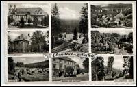 CLAUSTHAL ZELLERFELD 1960 8-fach Mehrbild-AK Harz Gruss