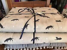 Sophie Allport LABRADOR Dog Bed Blanket/Mat & also Pet Carrier Size - Handmade