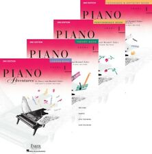 Faber Piano Adventures Level 1 - Four Book Pack (Lesson/Theory/Perf/Technique)