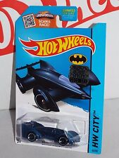 Hot Wheels 2015 BATMAN Series #65 Batman LIVE! Batmobile Blue From Factory Set