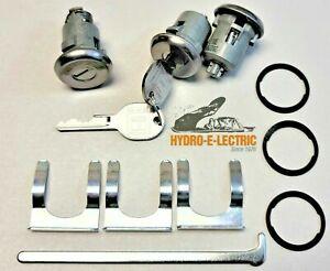 NEW 1966-1968 Chevrolet Corvair Door & Trunk Lock set with keys