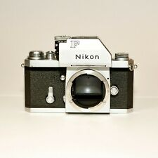 Nikon F Photomic T 35mm Slr Film Camera Body