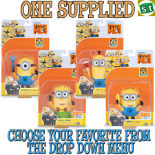 Despicable Me 3 - Deluxe talking Action Figure ONE SUPPLIED you choose