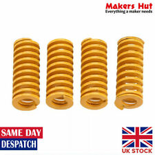 4 Pcs Yellow Hot Bed Leveling Springs For Creality Ender CR10 3D Printer