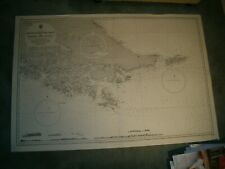 Vintage Admiralty Chart 1373 SOUTH EAST PART OF TIERRA DEL FUEGO 1964 edn