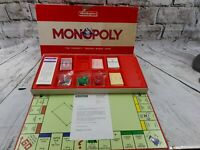 Vintage Waddingtons Parker 1984 Clasic Monopoly Board Game 80s complete