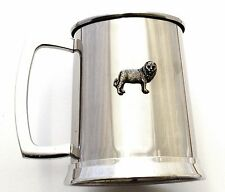 Leo The Lion Pint Tankard Stainless Steel Ideal Star Sign Gift