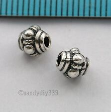 2x BALI STERLING SILVER DAISY SPACER BEAD 5.5mm N216