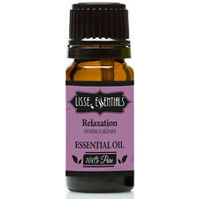 Lisse Essentials Relaxatiion Essential Oil, 100% Pure Therapeutic Grade, 10 ml