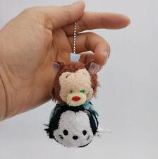 Disney store tsum tsum Pair Gideon & Cat Series Pinocchio plush toy Key Chain