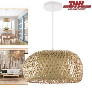 Decken Hänge Lampe Rattanlampe Orientalische Hängelampe Korblampe Orientlampe DE