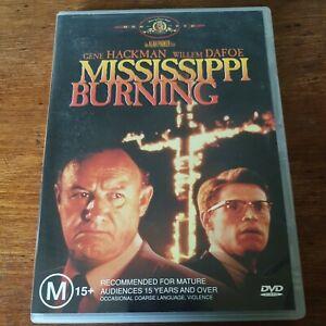 Mississippi Burning DVD R4 Like New! FREE POST