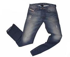 DIESEL THAVAR-ROMA 0828Z Skinny Jeans W32 L32 100% AUTENTICO