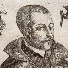 Portrait XVIIIe Erasmus Seidel Annaberg Berlin Bürgermeister Kupferstich 1720