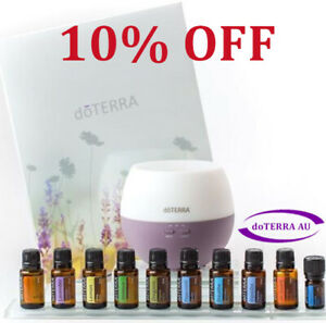 doTERRA Home Essentials Oil Kit & Diffuser & Wholesale Membership Health Organic