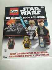 Lego Star Wars Essential Book Collection BN exclusive mini figures Luke Han solo