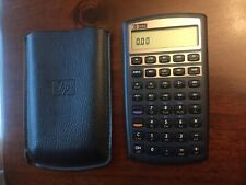 HP 10BII PLUS (+) FINANCIAL CALCULATOR WITH CASE AND NEW BATTERIES