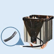 Pure Copper Four heat pipe three fan CPU Cooler Heatsink for AMD FM2 FM1 YS