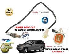 FOR SUZUKI GRAND VITARA 2.4 2008 > REAR POST CAT LOWER 02 OXYGEN LAMBDA SENSOR