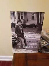 NEW BRUCE SPRINGSTEEN SIGNED BORN TO RUN BOOK NYC AUTOGRAPHED 1ST BOOKMARK