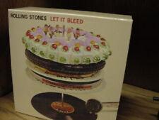 ROLLING STONES  LET IT BLEED 6 JAPAN OBI  REPLICA TO ORIGINAL LP RARE 10CD Box
