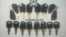 (16) Master Keys, Cat, Caterpillar, Heavy Equipment, 4 of each Model Key